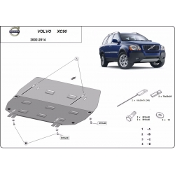 Volvo XC90 cover under the engine - Metal sheet
