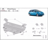 Citroen C4 Picasso cover under the engine – Metal sheet