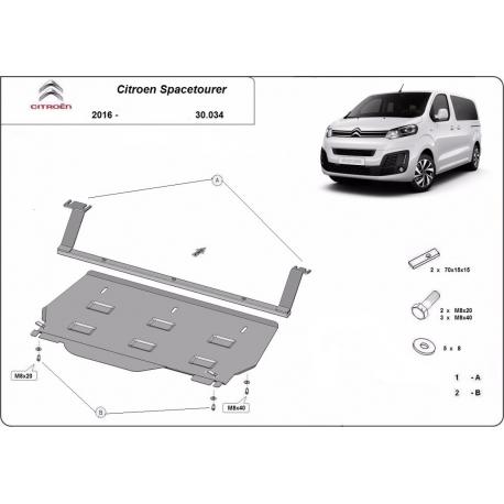 Citroen Spacetourer Motorschutz – Blech