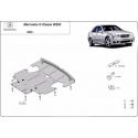 Mercedes C-Class kryt pod motor 2.0 benzín – plech