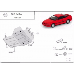 Opel Calibra cover under the engine – Metal sheet