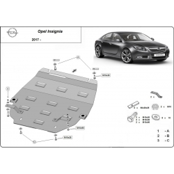 Opel Insignia B cover under the engine – Metal sheet