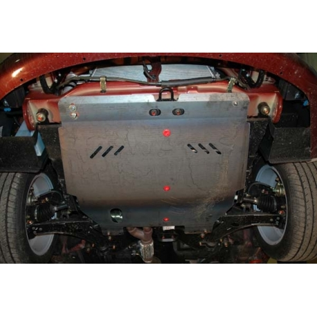 Chevrolet Epica (cover under the engine and gearbox) 2.0, 2.5 - Aluminium