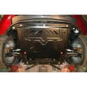 Ford Fiesta VI (cover under the engine and gearbox) 1.3, 1.4, 1.6 - Metal sheet