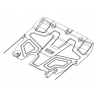 Ford Mondeo V (cover under the engine and gearbox) 1.6 - Metal sheet
