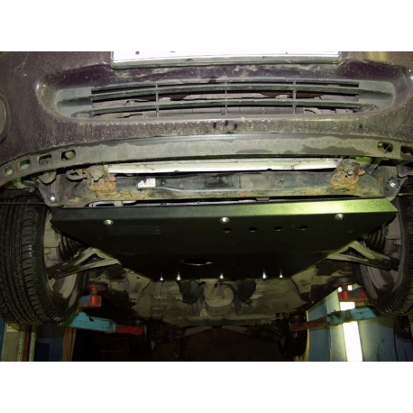 Ford Mondeo II (cover under the engine and gearbox) - Metal sheet