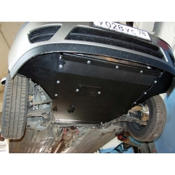 Ford Focus (cover under the engine and gearbox) - Aluminium