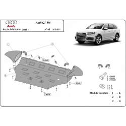 Audi Q7 cover under the engine - Metal sheet