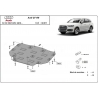 Audi Q7 cover under the gearbox - Metal sheet