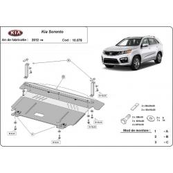 Kia Sorento cover under the engine - Metal sheet
