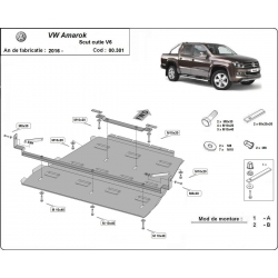 Volkswagen Amarok cover under the gearbox V6 - automat - Metal sheet