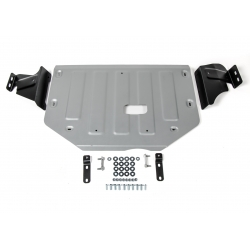 Ford Transit Custom 2,2 Cover under the engine and gearbox - Aluminium