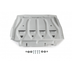 Ford Ranger PX 2,2 | 3,2 | 2.0 TDCi set of covers - Aluminium