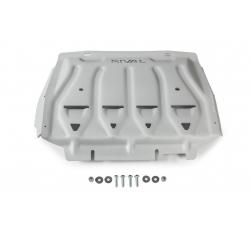 Ford Ranger PX 2,2   3,2   2.0 TDCi set of covers - Aluminium