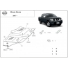 Nissan Navara (differential cover a převodovky) 2.5 dCi (4WD), 4.0 (4WD) - Metal sheet