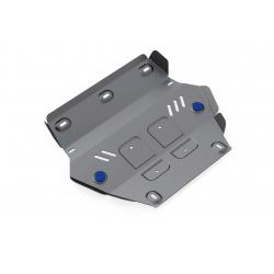 Isuzu D-Max 1,9   2,5TD Cover the cooler - Aluminium