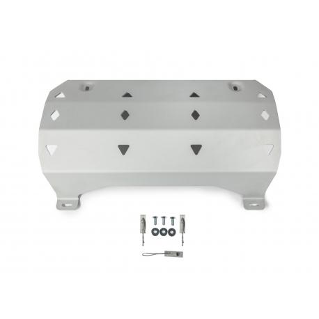 Jeep Wrangler JL 2.0T | 3.6 Exhaust pipe cover - Aluminium