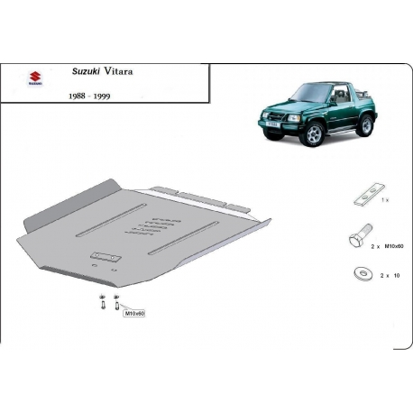 Suzuki Vitara (cover gearbox) - Metal sheet