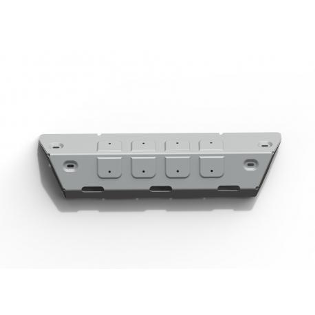 Jeep Wrangler JK 2,8 Diesel (CRD) Steering rod cover - Aluminium