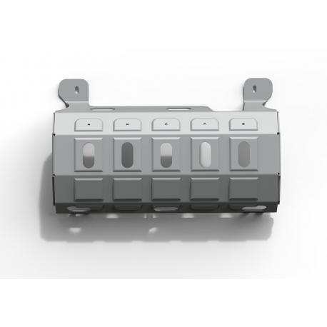 Jeep Wrangler JK 3,6 Petrol Exhaust pipe cover - Aluminium