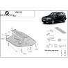 BMW X3 kryt pod motor - Plech
