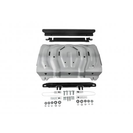 Mitsubishi Pajero Sport QE 2,4 | 3,0 Cover the cooler - Aluminium