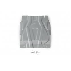 Mitsubishi Pajero Sport QE 2,4   3,0 Cover under the gearbox - Aluminium