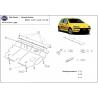 Fiat Grande Punto (cover under the engine) 1,2 8V, 1,4 8V, 1,4 16V - Metal sheet