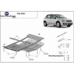 Fiat Stilo (cover under the engine) 1.4, 1.6, 1.8 - Metal sheet