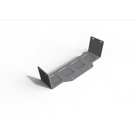 Nissan Patrol Y61 3,0 | 4,8 Steering rod cover - Aluminium