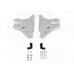 Nissan Navara D23 2,3D Front arm cover - Aluminium