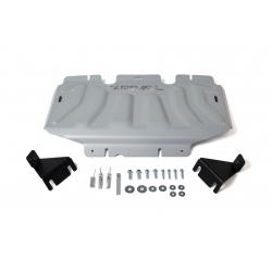 Nissan Navara D40 2,5D | 3,0 Cover the cooler - Aluminium
