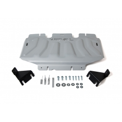 Renault Alaskan 2,3dci set of covers - Aluminium