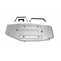 Toyota RAV4  Cover the tank - Aluminium