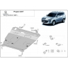 Peugeot 4007 (cover under the engine) 2.0, 2.0(4WD), 2.0T, 2.4(4WD) - Metal sheet