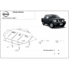 Nissan Navara (cover under the engine) 2.5dCi (4WD), 4.0(4WD) - Metal sheet