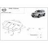 Nissan Pathfinder (cover under the engine) 2.5 dCi(4WD), 4.0(4WD) - Metal sheet