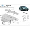 Peugeot 406 (cover under the engine) 1.6, 1.8, 1.9D, 2.0HDi, 2.1TD - Metal sheet