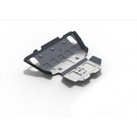 Toyota Hilux Vigo 2,5TD | 3,0TD | 2,7 Engine cover and radiator - Aluminium
