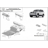 Toyota Land Cruiser 120 (cover under the engine) 3.0D, 4.2D - Metal sheet