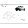 Toyota Hilux I (cover under the engine) - Metal sheet