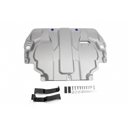 Volkswagen Golf V  Cover under the engine and gearbox - Aluminium