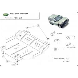 Land Rover Freelander (cover under the engine) - Metal sheet