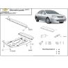 Chevrolet Lacetti (cover under the engine) - Metal sheet