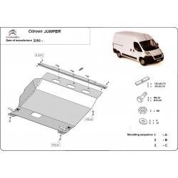 Citroen Jumper (cover under the engine) 2.2HDi, 2.3TD, 3.0HDi - Metal sheet
