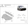 Peugeot Partner (cover under the engine) 1.4, 1.9TDi - Metal sheet