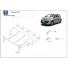 Peugeot 107 (cover under the engine) 1.0, 1.4HDi - Metal sheet