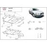 Audi A4 (cover under the engine) 4-válcové motory - Metal sheet