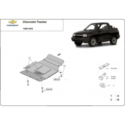 Chevrolet Tracker (cover under the engine) - Metal sheet