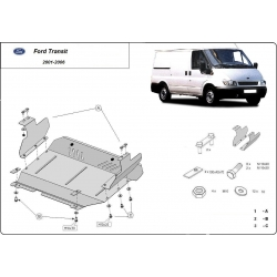 Ford Transit (cover under the engine) 2.0Td, 2.4Td - Metal sheet